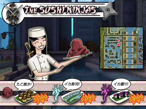 Ninja Sushi! Great food, great prices!