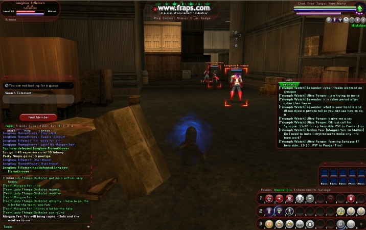 2007.01.14 10:41:55:47 CityOfHeroes (Video: 4.0Mb)