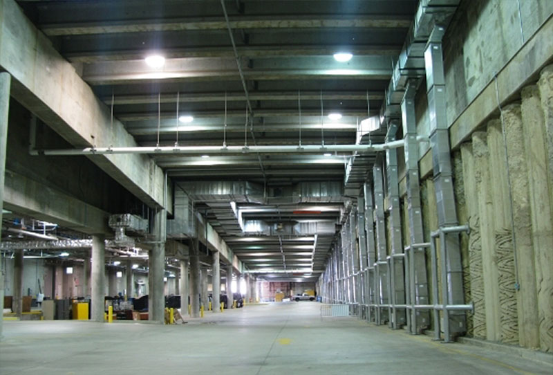 Convention center loading area (<a href=http://www.raleighconvention.com/album/behind-the-scenes-16>Source</a>)