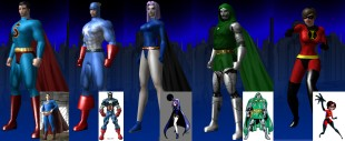Some knock-offs of real heroes